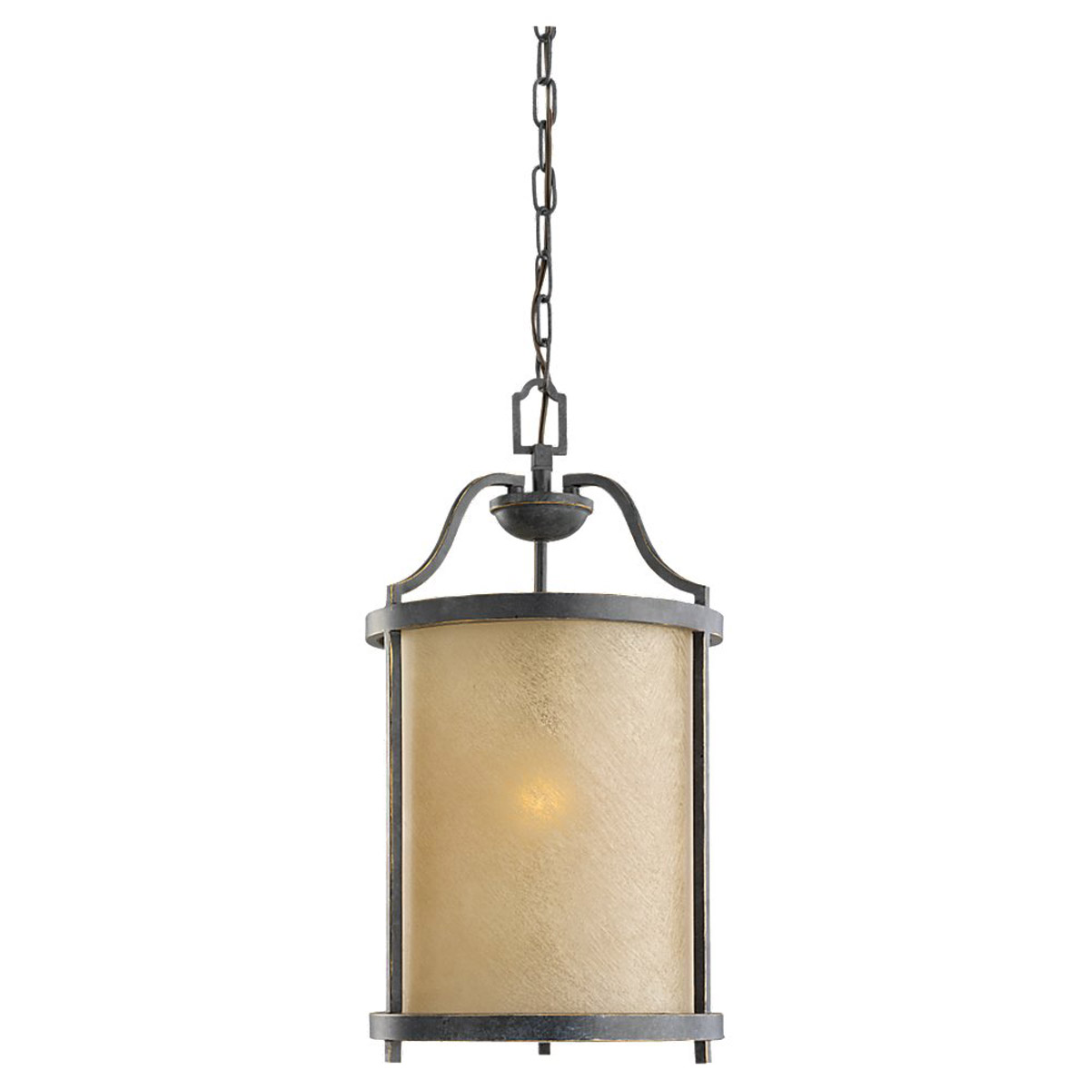 Sea Gull 51520BLE-845 Roslyn 1 Light 11 inch Flemish Bronze Hall/Foyer Pendant Ceiling Light in Fluorescent photo
