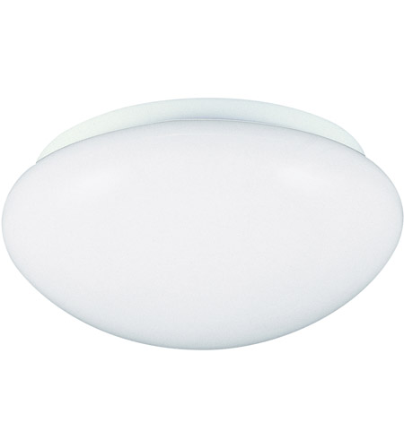 Sea Gull Lighting Signature 3 Light Flush Mount in White 53160-15