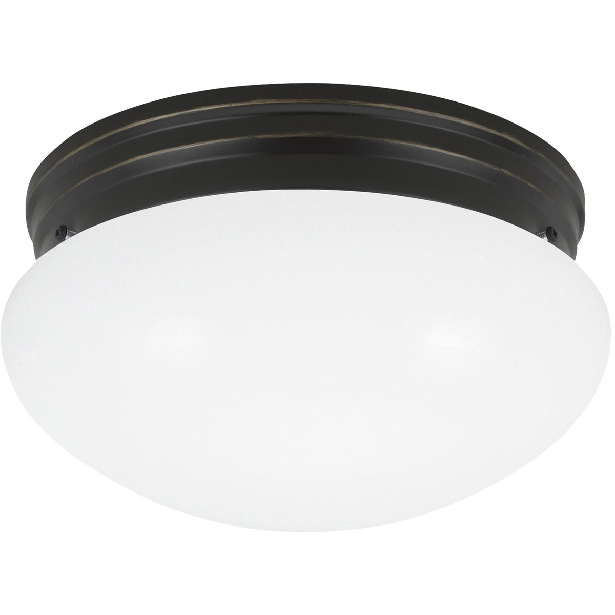 Sea Gull 5326-782 Webster 1 Light 8 inch Heirloom Bronze Flush Mount Ceiling Light photo