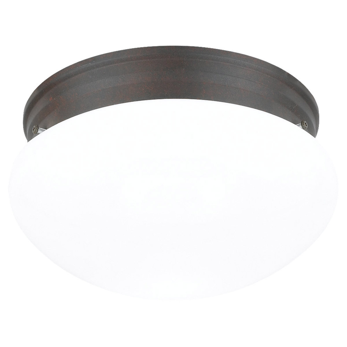 Sea Gull Lighting Webster 2 Light Flush Mount in Misted Bronze 5328-814