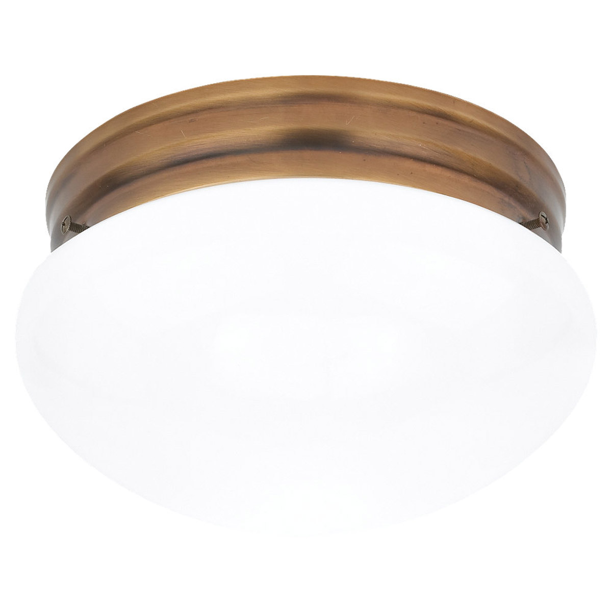 Sea Gull 5328-829 Webster 2 Light 10 inch Russet Bronze Flush Mount Ceiling Light photo