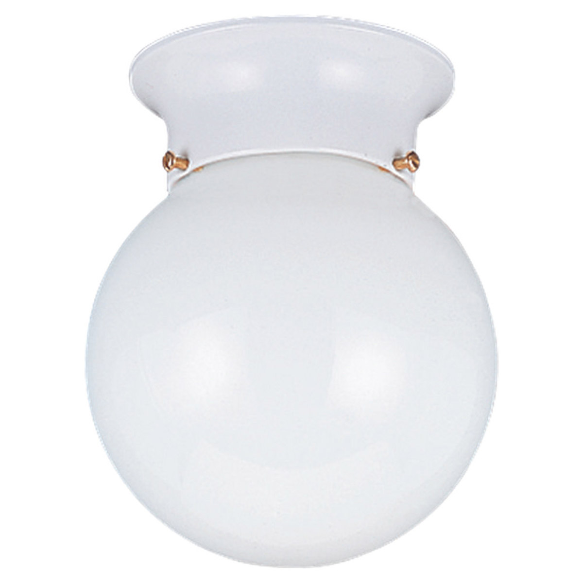 Sea Gull Lighting Tomkin 1 Light Flush Mount in White 5368-15 photo