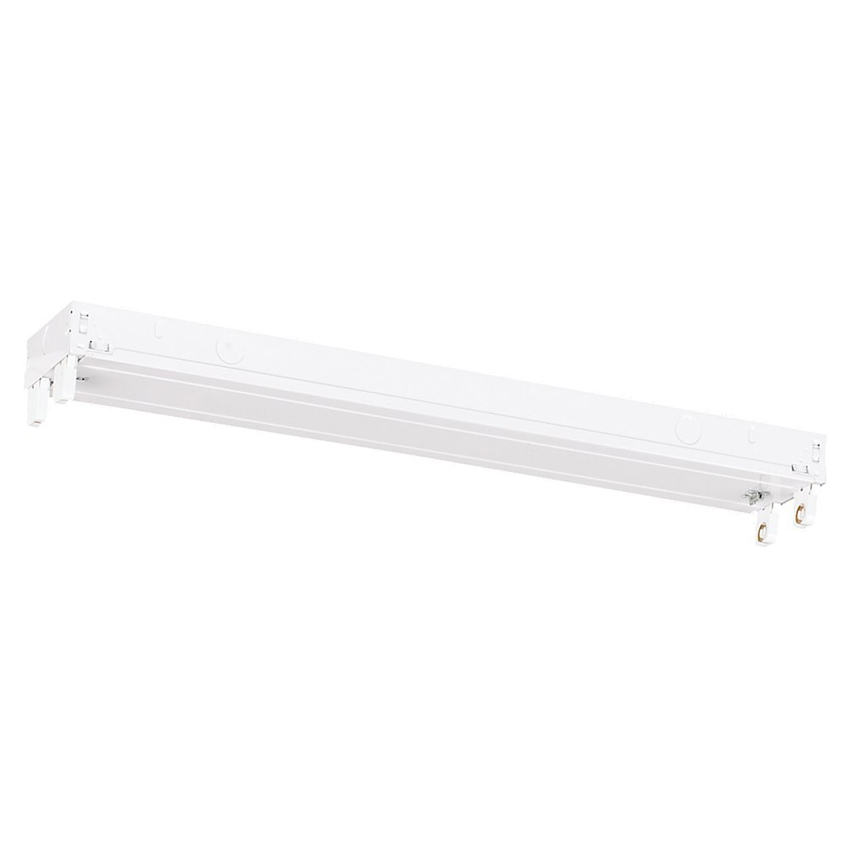 Sea Gull 59021L-15 Signature 2 Light 4 inch White Fluorescent Strip Light Ceiling Light photo