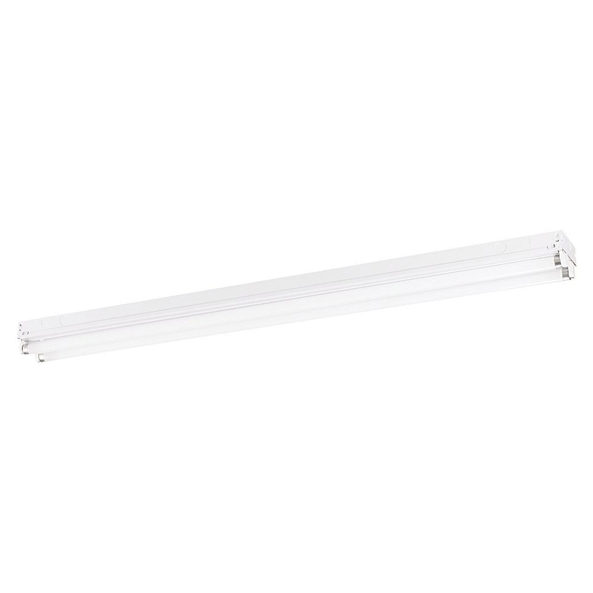 Sea Gull Lighting Signature 2 Light Fluorescent Strip Light in White 59022LE-15 photo