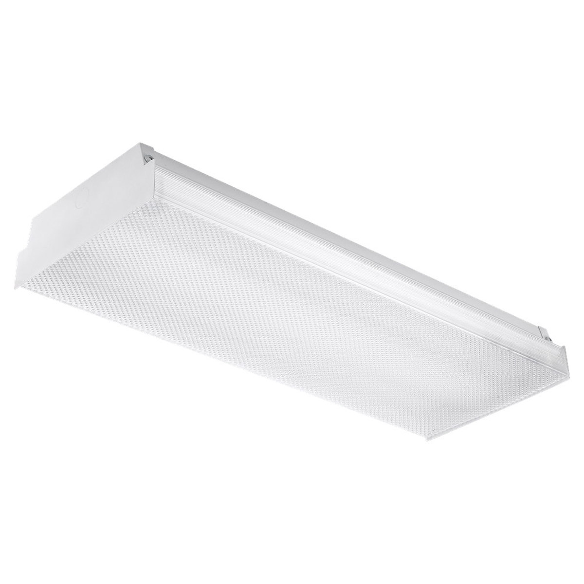 Sea Gull Lighting Signature 2 Light Fluorescent Flush Mount in White 59033LE-15