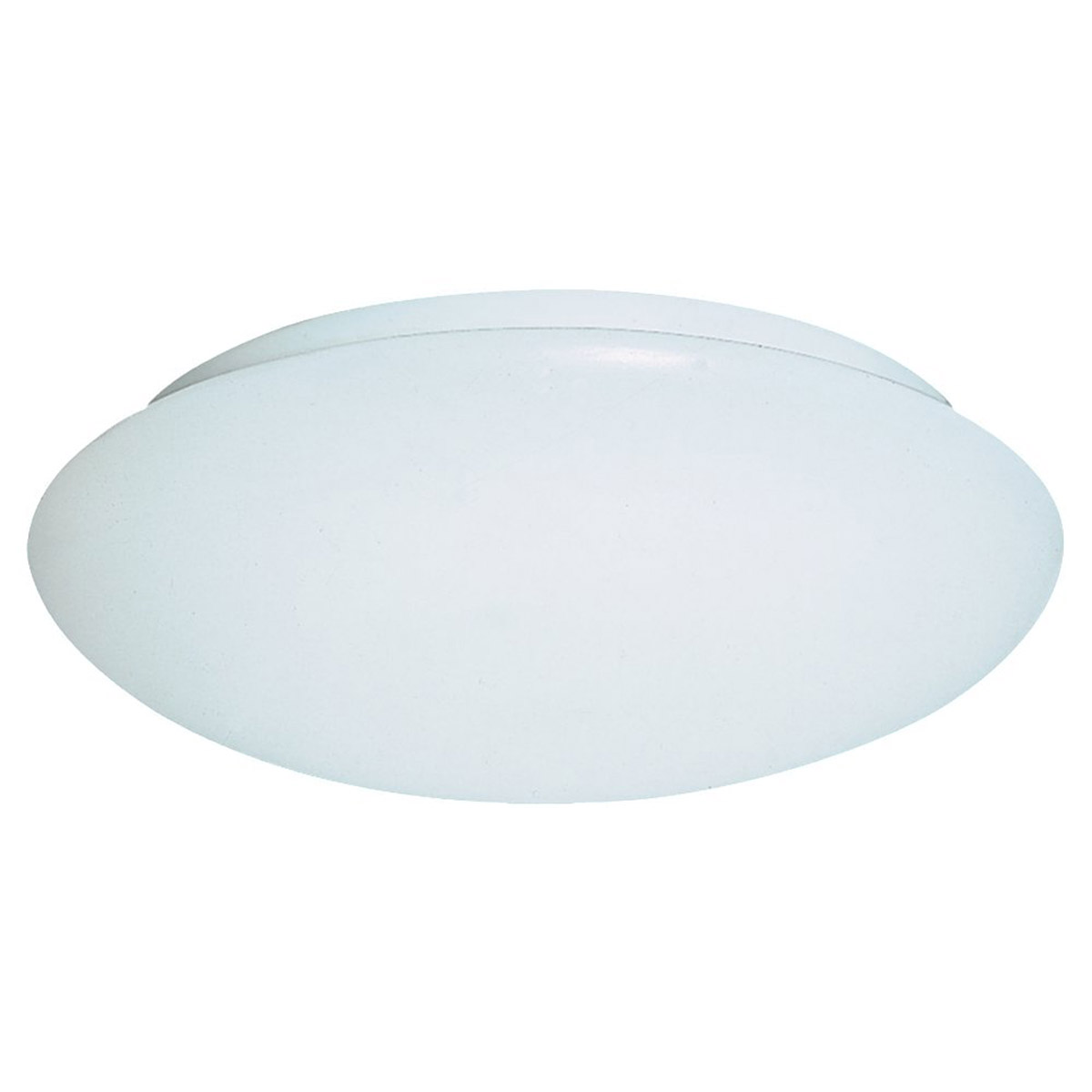 Sea Gull Lighting Holly 3 Light Fluorescent Flush Mount in White 59055BLE-15