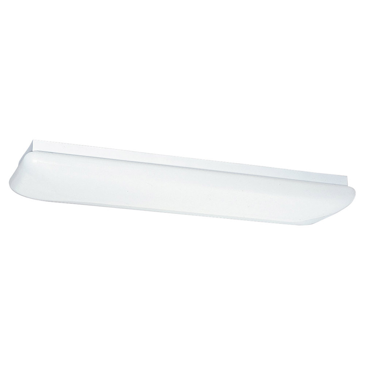 Sea Gull Lighting Signature Fluorescent Trim Only in White Plastic 5912-68 photo