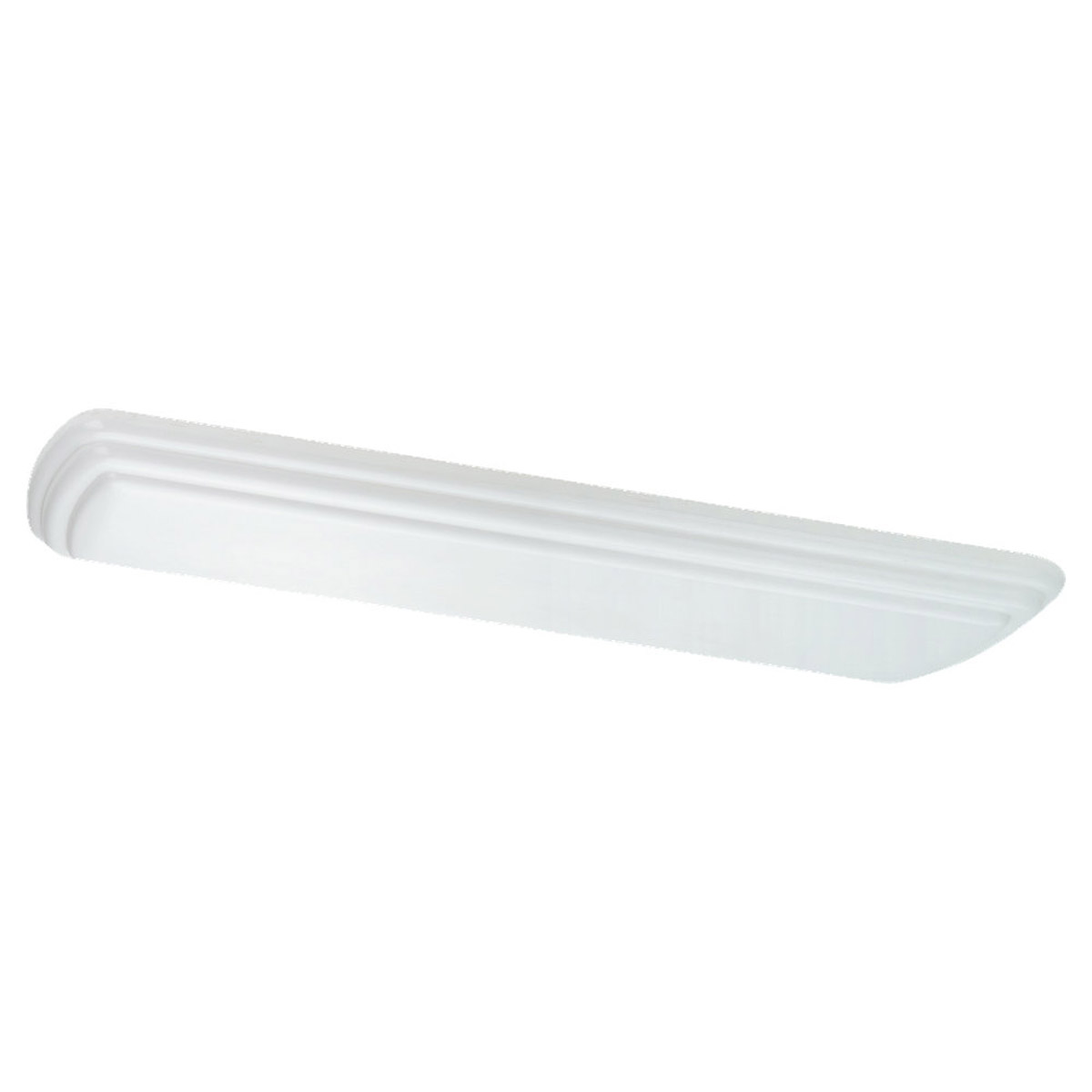 Sea Gull Lighting Farley 4 Light Flush Mount in White 5915LE-15