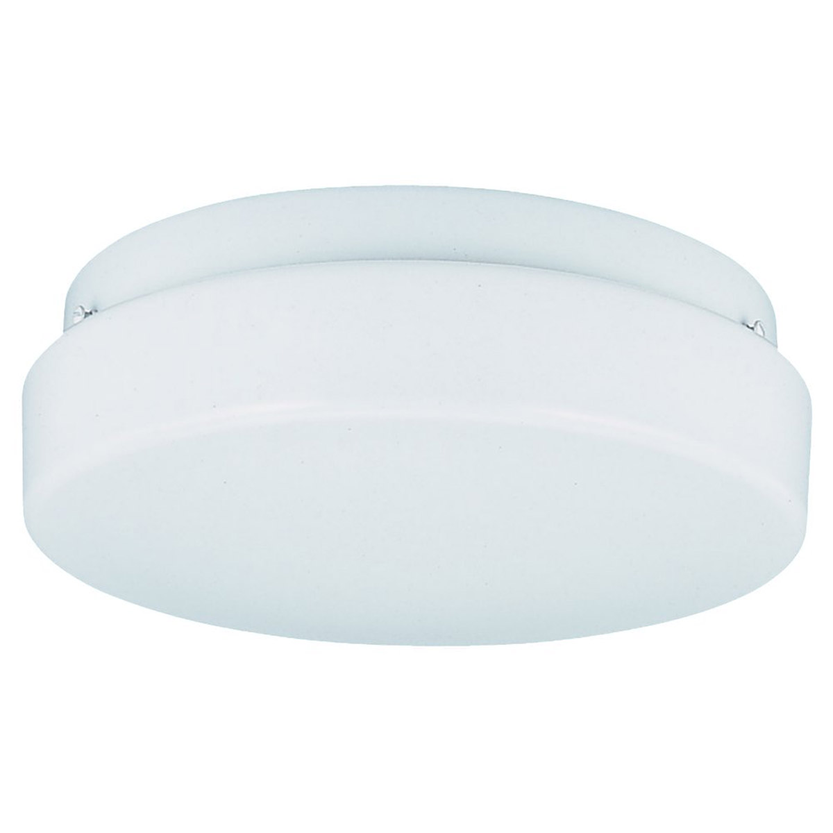 Sea Gull Lighting Haylee 3 Light Fluorescent Flush Mount in White 59232BLE-15