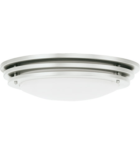 Sea Gull Lighting Nexus 4 Light Fluorescent Flush Mount in Brushed Nickel 59251BLE-962