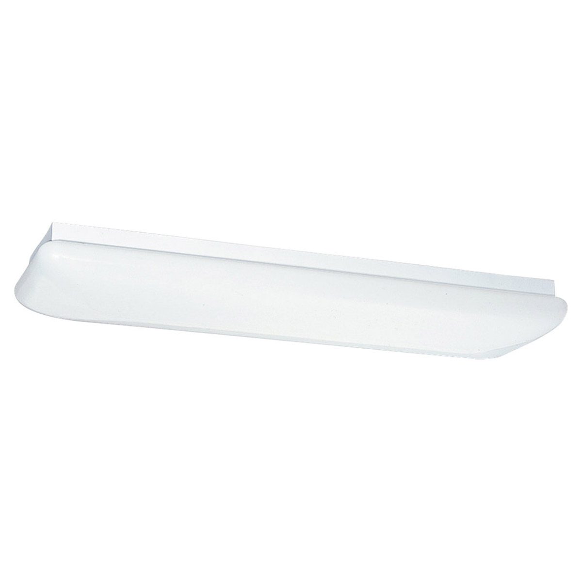 Sea Gull Lighting Signature 2 Light Fluorescent Flush Mount in White 59270LE-15 photo