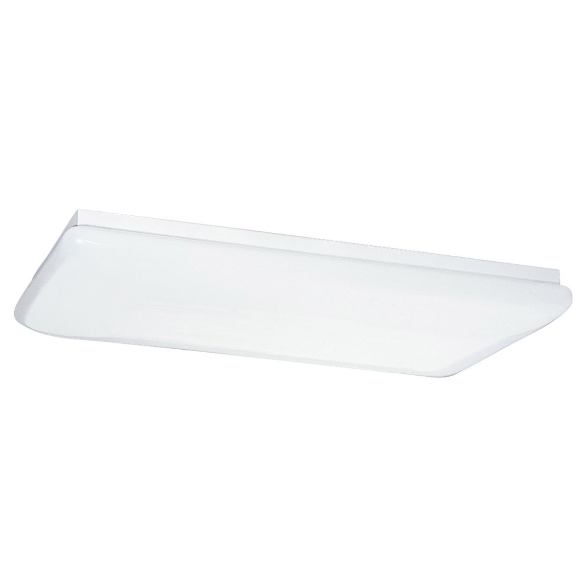 Sea Gull Lighting Signature 4 Light Fluorescent Flush Mount in White 59271LE-15