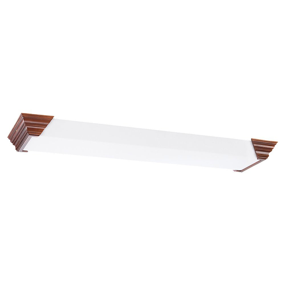 Sea Gull Lighting Signature Fluorescent Flush Mount in Cherry 59275LE-705
