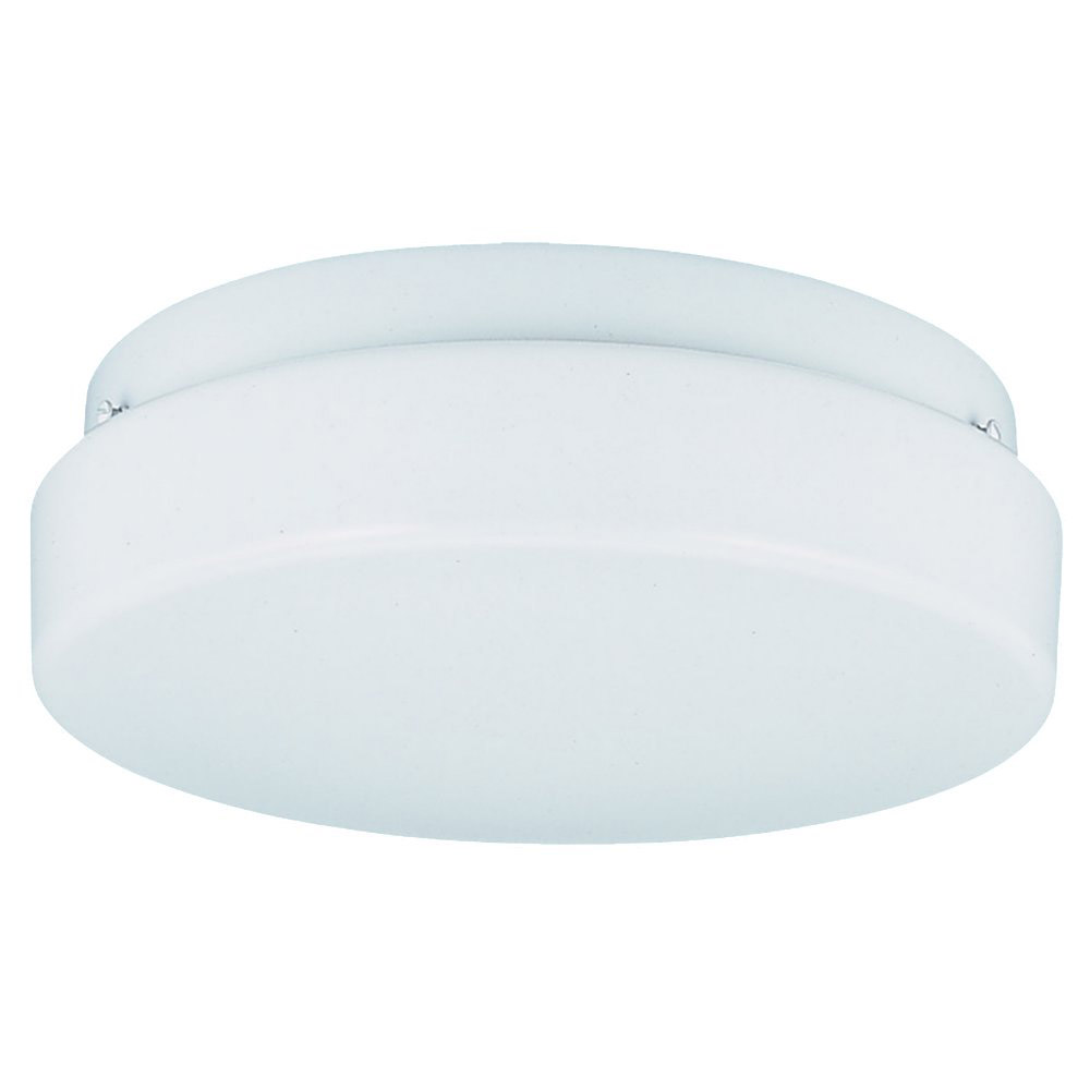 Sea Gull Lighting Signature 2 Light Fluorescent Flush Mount in White 5931BLE-15 photo