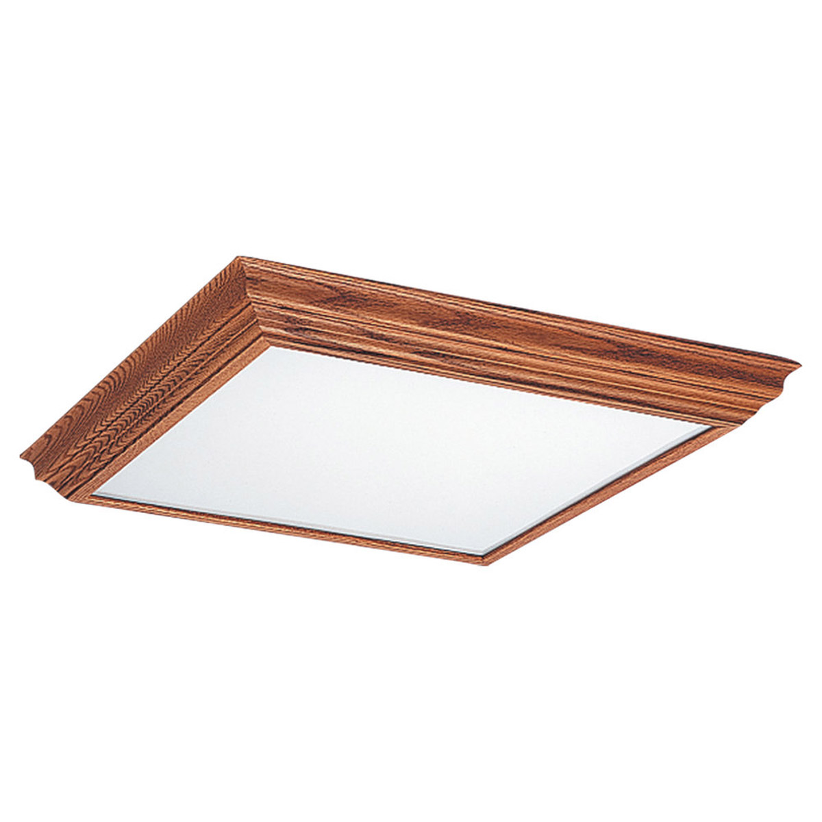 Sea Gull Lighting Signature 2 Light Fluorescent Trim Only in Oak 5977-43