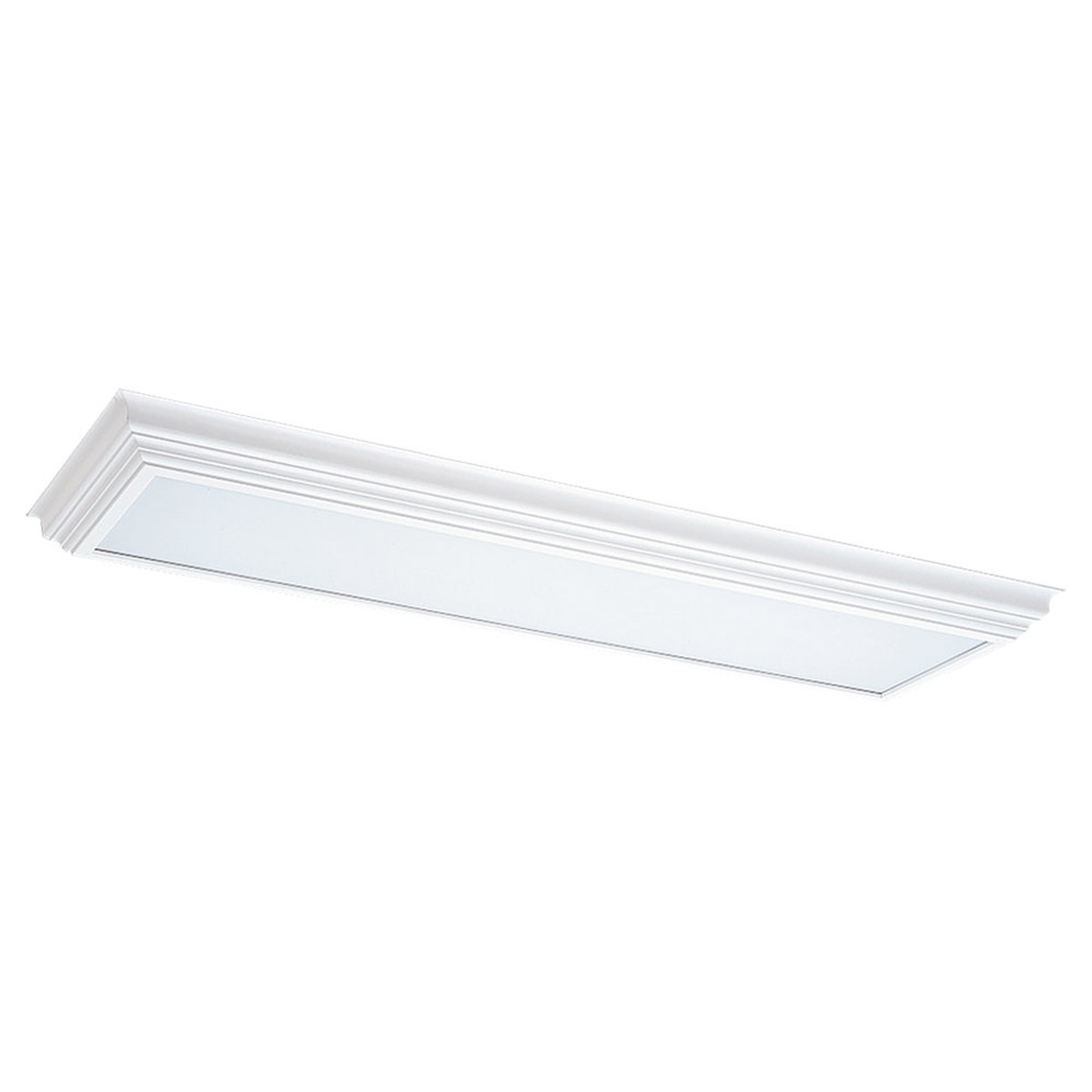 Sea Gull Lighting Signature Fluorescent Trim Only in White 5978-15 photo