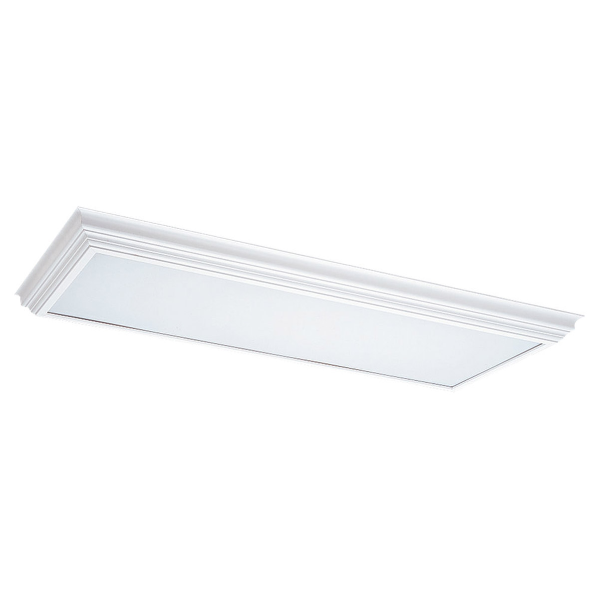 Sea Gull Lighting Signature 4 Light Fluorescent Trim Only in White 5979-15