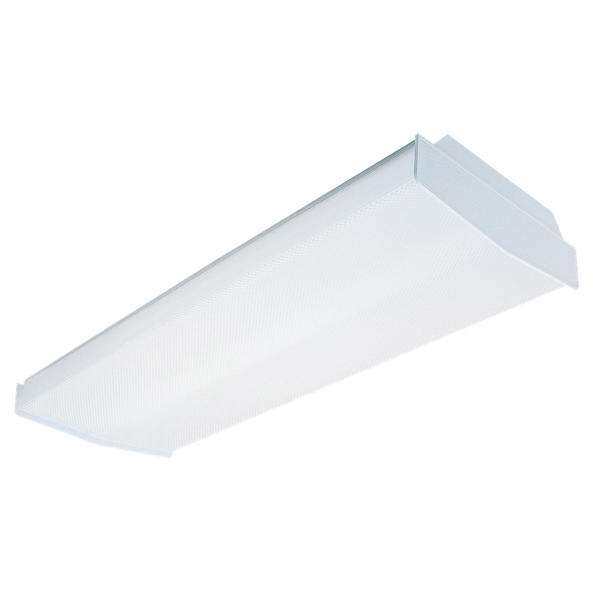 Sea Gull Lighting Averil 4 Light Fluorescent Flush Mount in White 5986LE-15