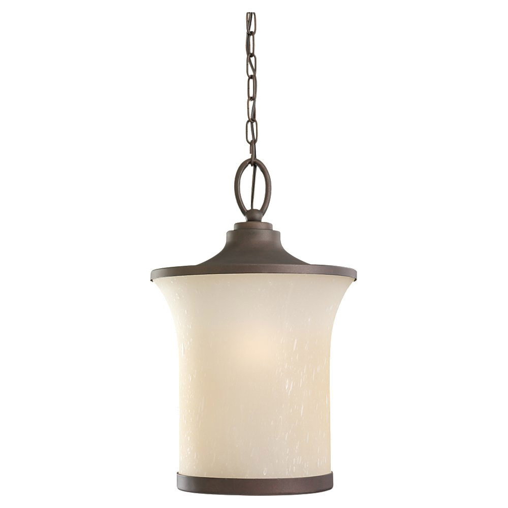 Sea Gull Lighting Del Prato 1 Light Outdoor Pendant in Chestnut Bronze 60122BLE-820