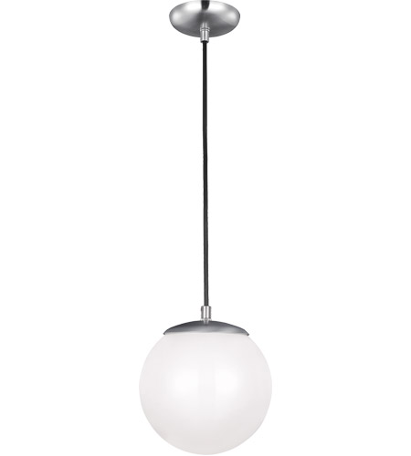 Led Ceiling Light Globe: Sea Gull 601891S-04 Hanging Globe LED 8 Inch Satin
