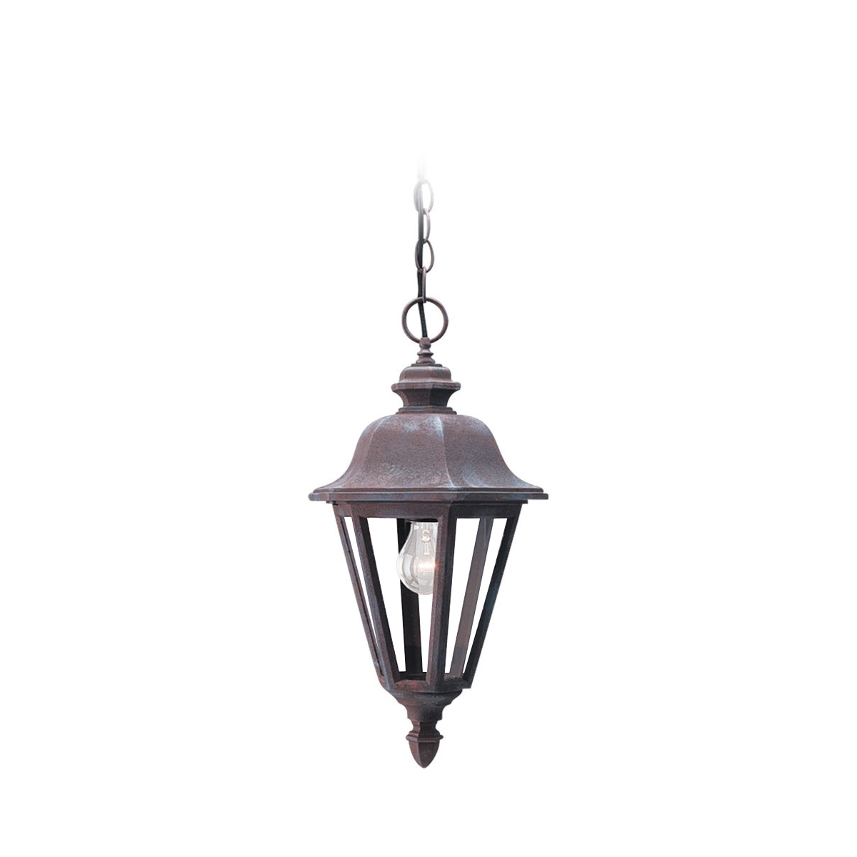 Sea Gull Lighting Brentwood 1 Light Outdoor Pendant in Sienna 6025-26 photo