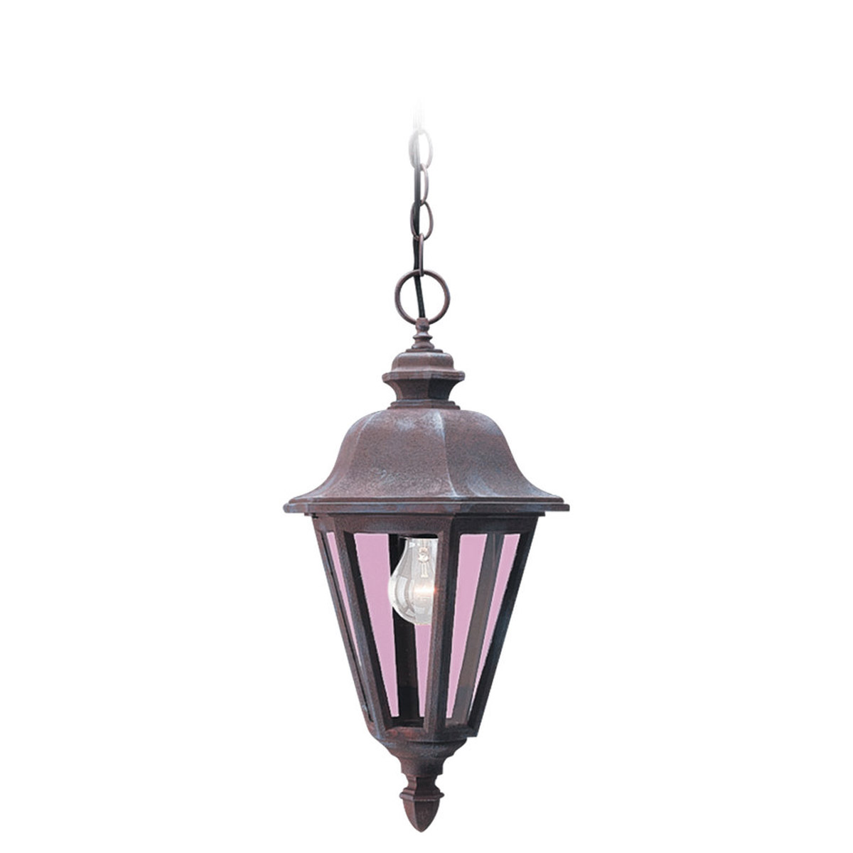 Sea Gull Lighting Brentwood 1 Light Outdoor Pendant in Sienna 6025-26