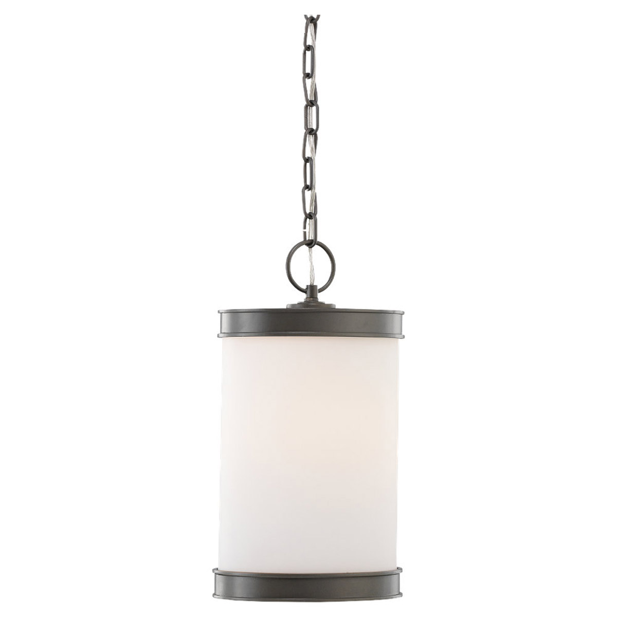 Sea Gull Lighting Amsterdam 1 Light Outdoor Pendant in Rustic Pewter 60885-850