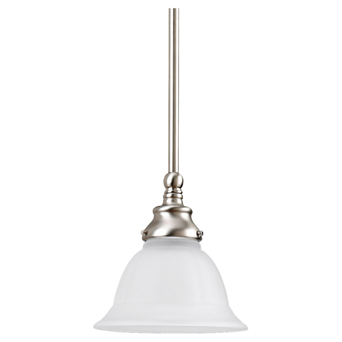 Sea Gull Lighting Canterbury 1 Light Pendant in Brushed Nickel 61050-962