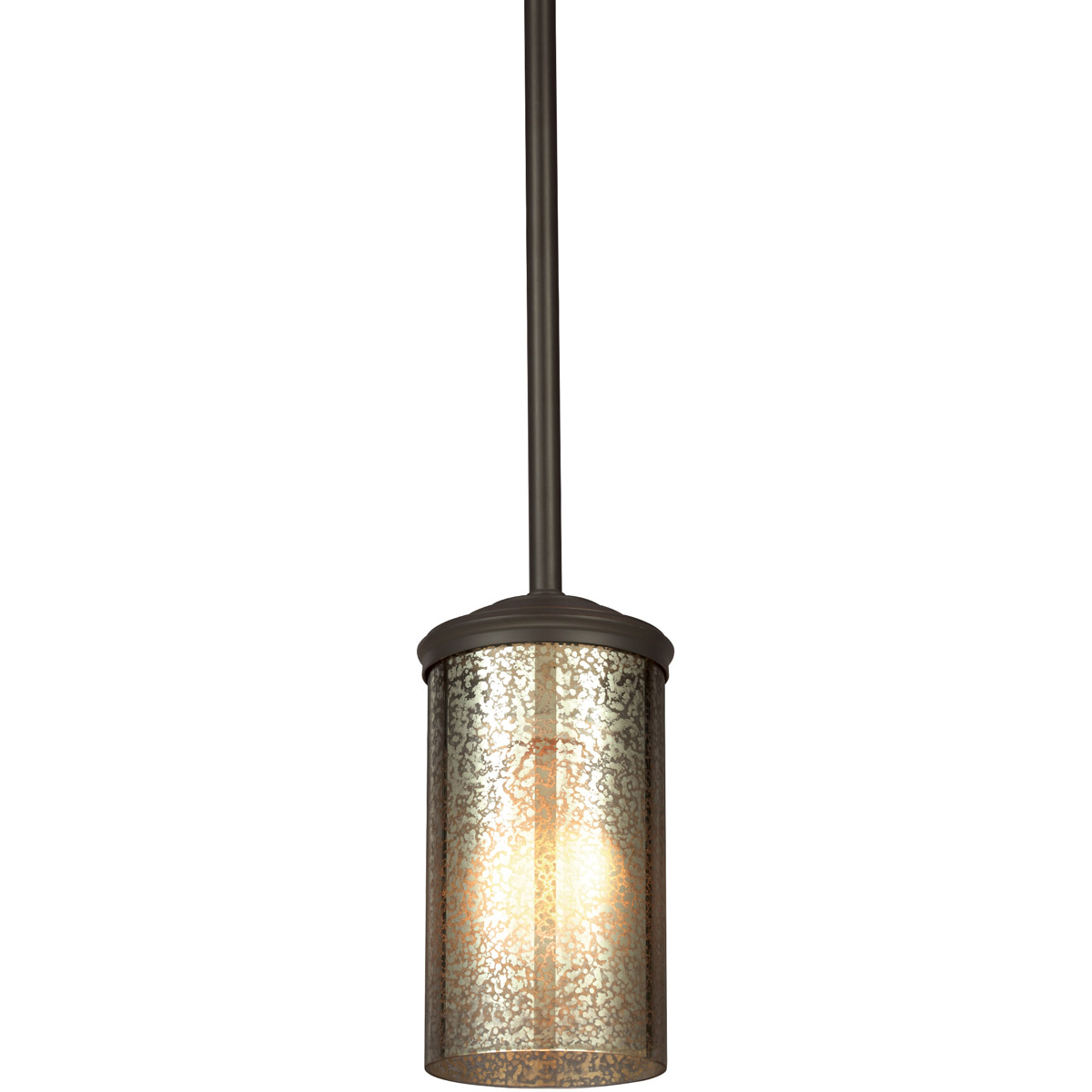 Sea Gull Sfera 1 Light Mini Pendant in Autumn Bronze 6110401BLE-715