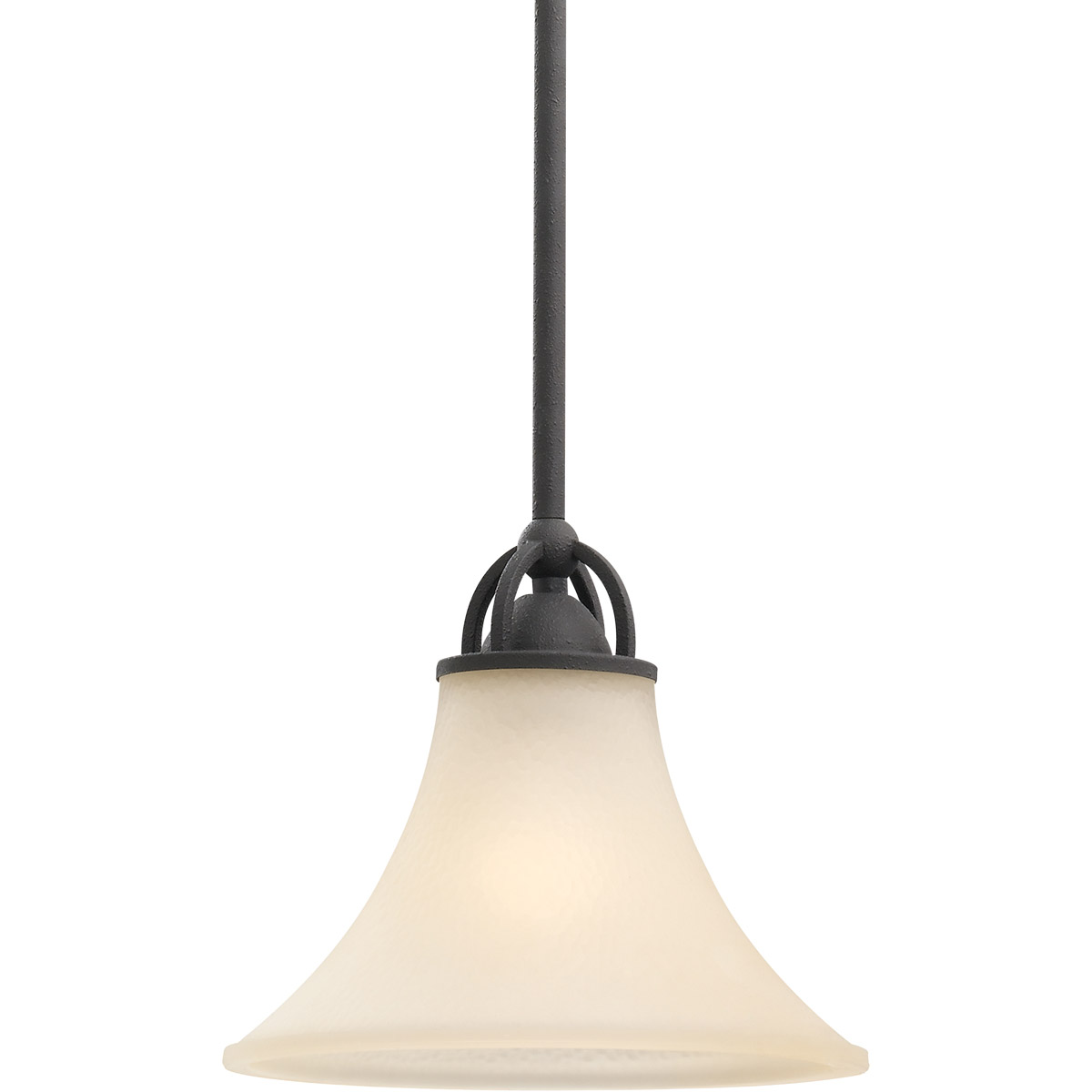 Sea Gull Somerton 1 Light Mini Pendant in Blacksmith 61375BLE-839