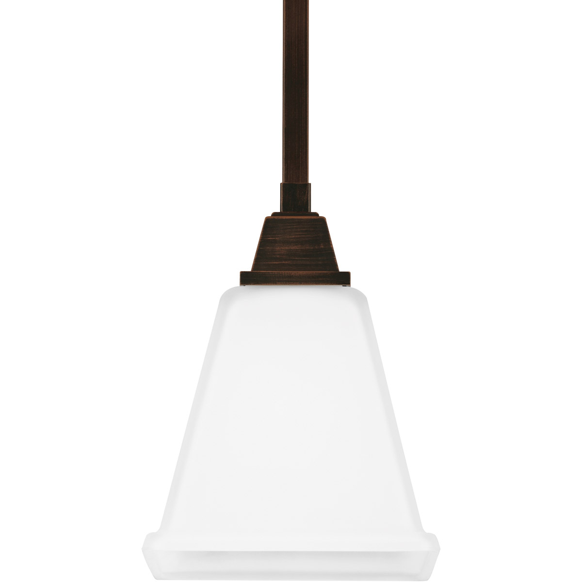 Sea Gull 6150401-710 Denhelm 1 Light 6 inch Burnt Sienna Mini Pendant Ceiling Light in Standard photo