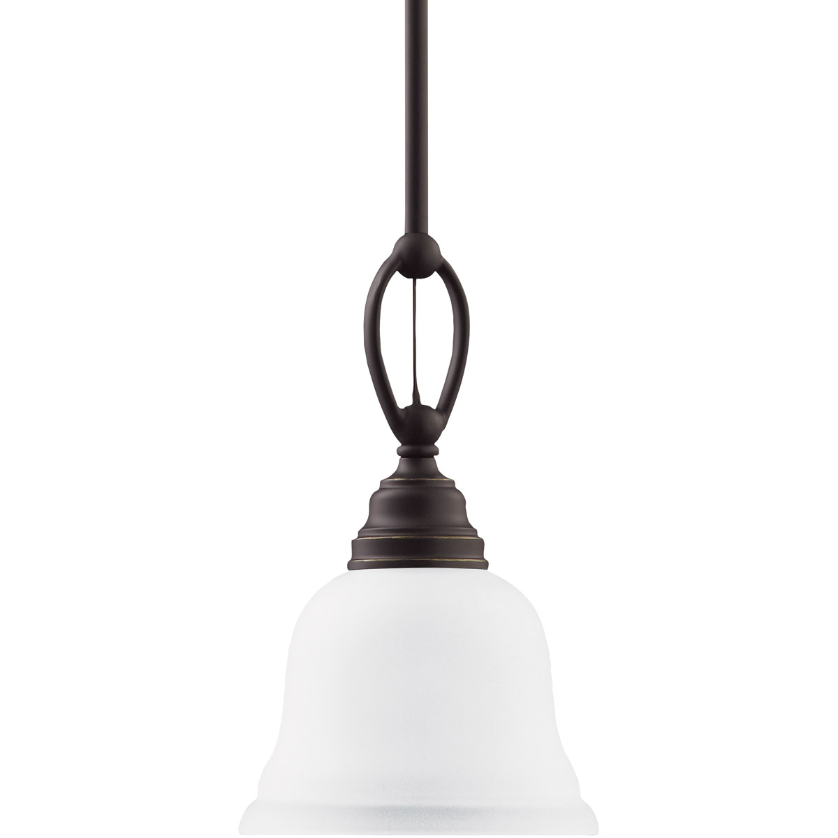 Sea Gull Lighting Wheaton 1 Light Mini Pendant in Heirloom Bronze 61625-782