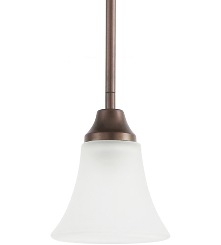 Sea Gull Lighting Holman 1 Light Mini Pendant in Bell Metal Bronze 61806-827
