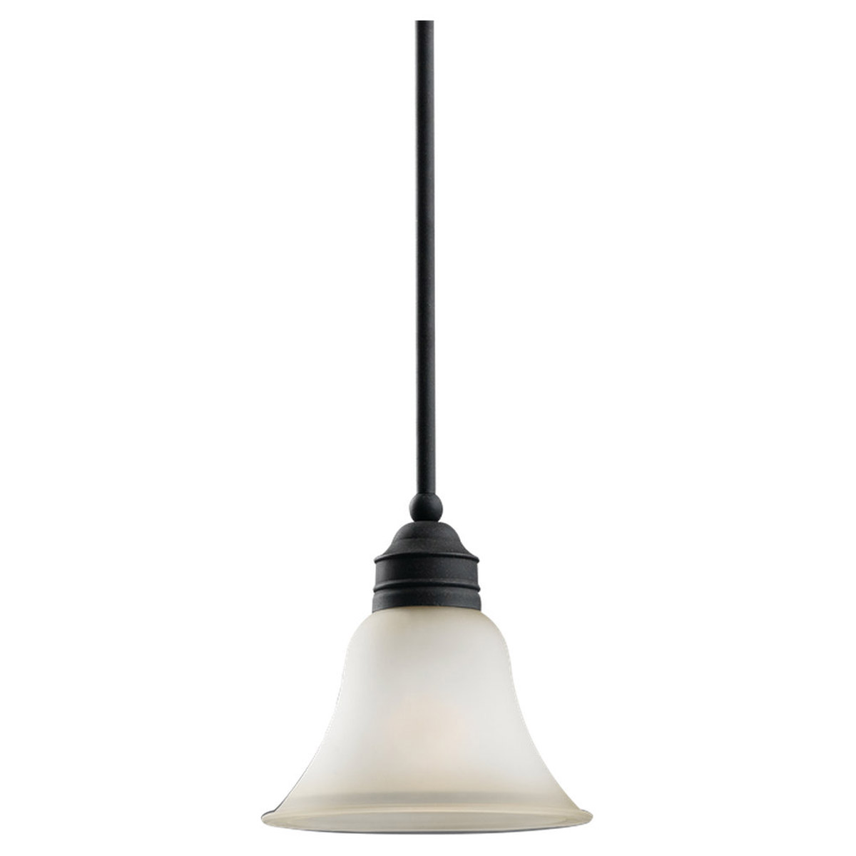 Sea Gull Lighting Gladstone 1 Light Pendant in Forged Iron 61850-185 photo