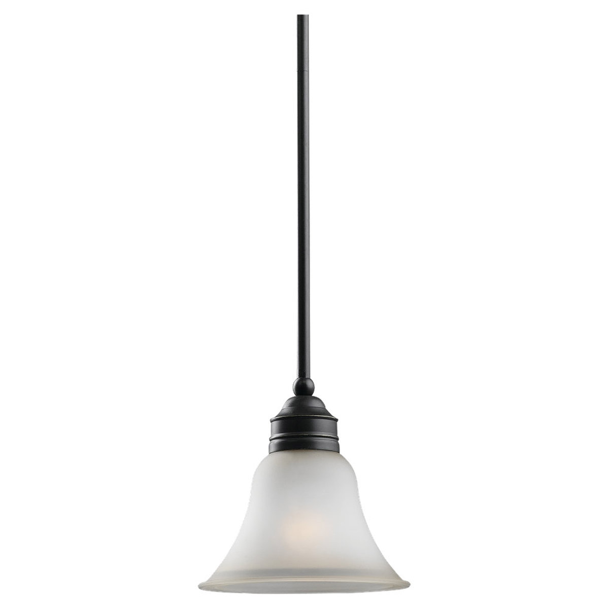 Sea Gull Lighting Gladstone 1 Light Mini Pendant in Heirloom Bronze 61850-782