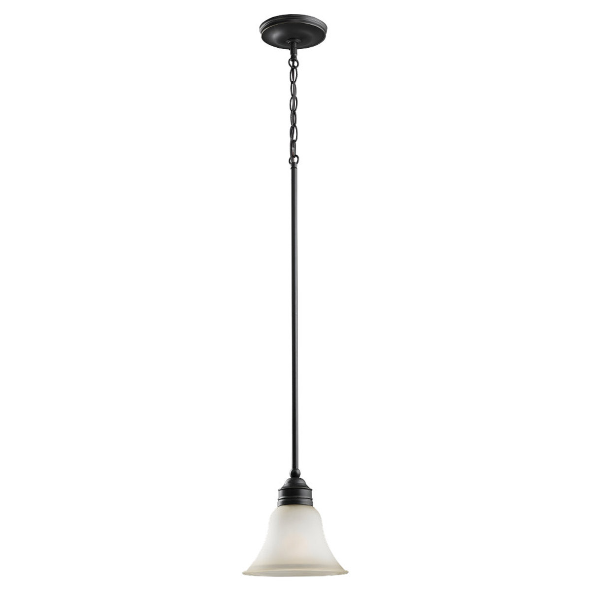 Sea Gull Lighting Gladstone 1 Light Mini Pendant in Heirloom Bronze 61850BLE-782
