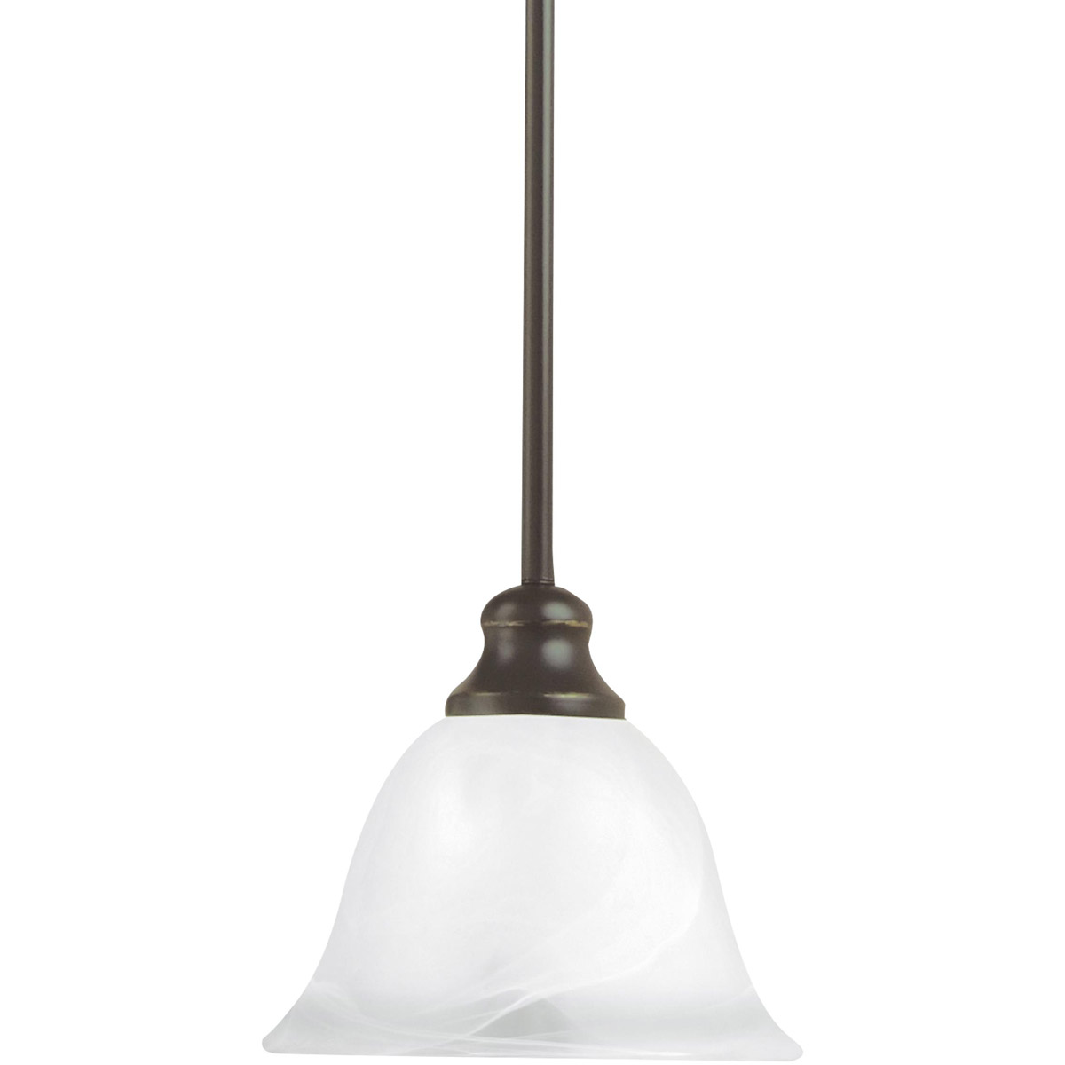 Sea Gull 61940-782 Windgate 1 Light 7 inch Heirloom Bronze Mini Pendant Ceiling Light in Standard photo