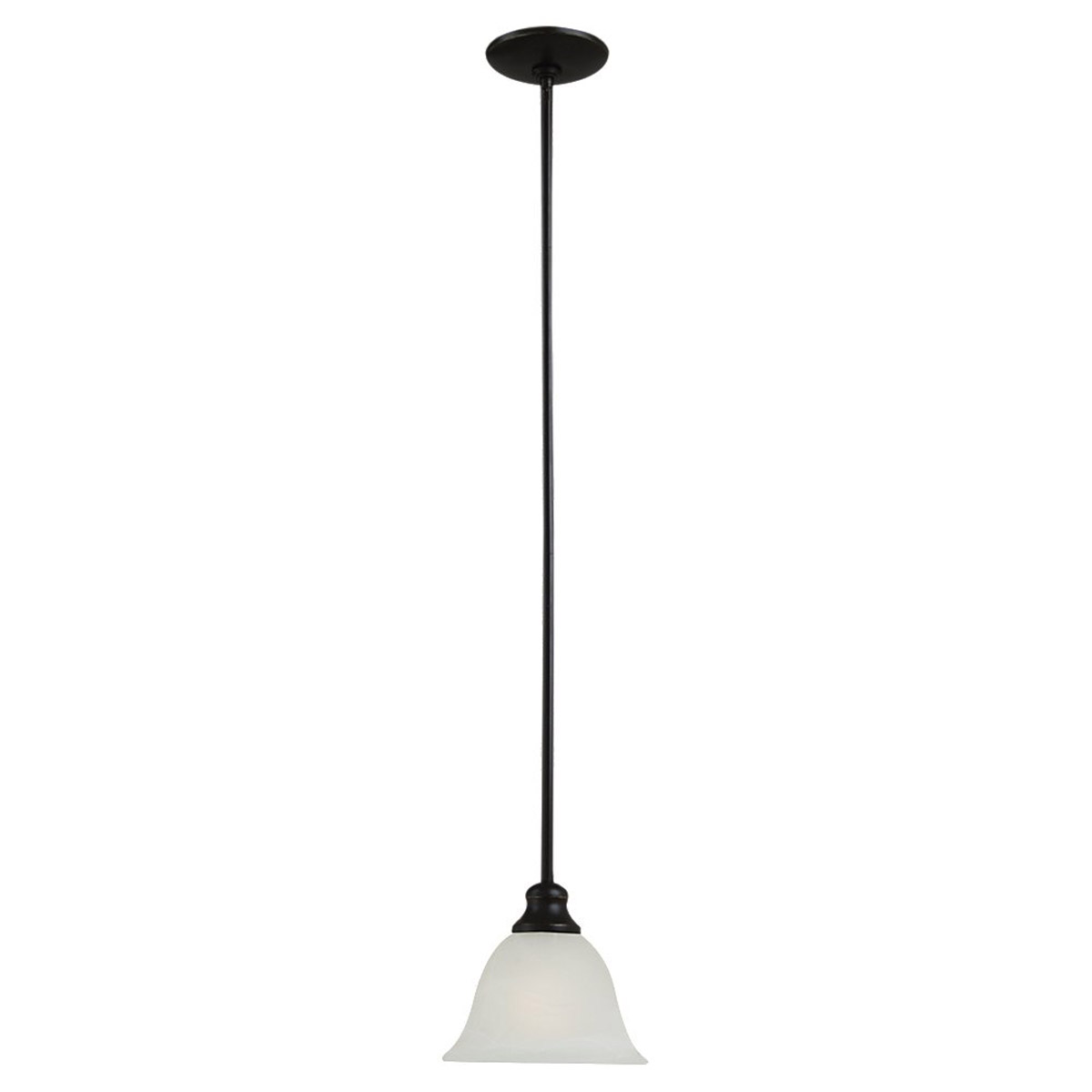 Sea Gull Lighting Windgate 1 Light Mini Pendant in Heirloom Bronze 61940BLE-782