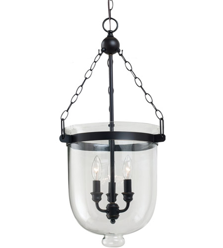 Sea Gull 65047-715 Westminster 3 Light 14 inch Autumn Bronze Pendant Ceiling Light photo