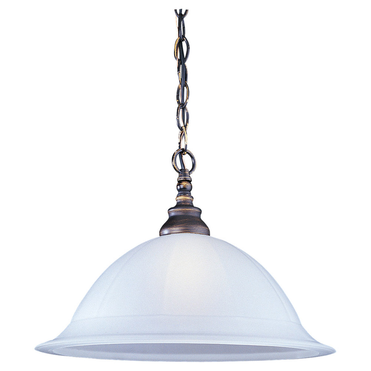 Sea Gull Lighting Canterbury 1 Light Pendant in Antique Bronze 65050-71