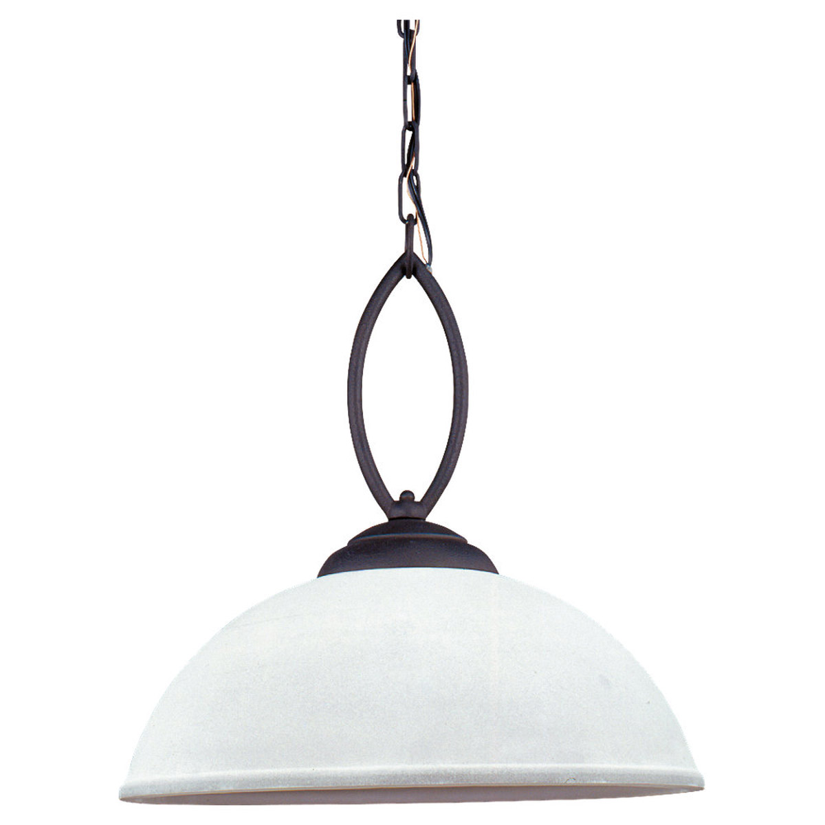 Sea Gull Lighting Pemberton 1 Light Pendant in Peppercorn 65074-799