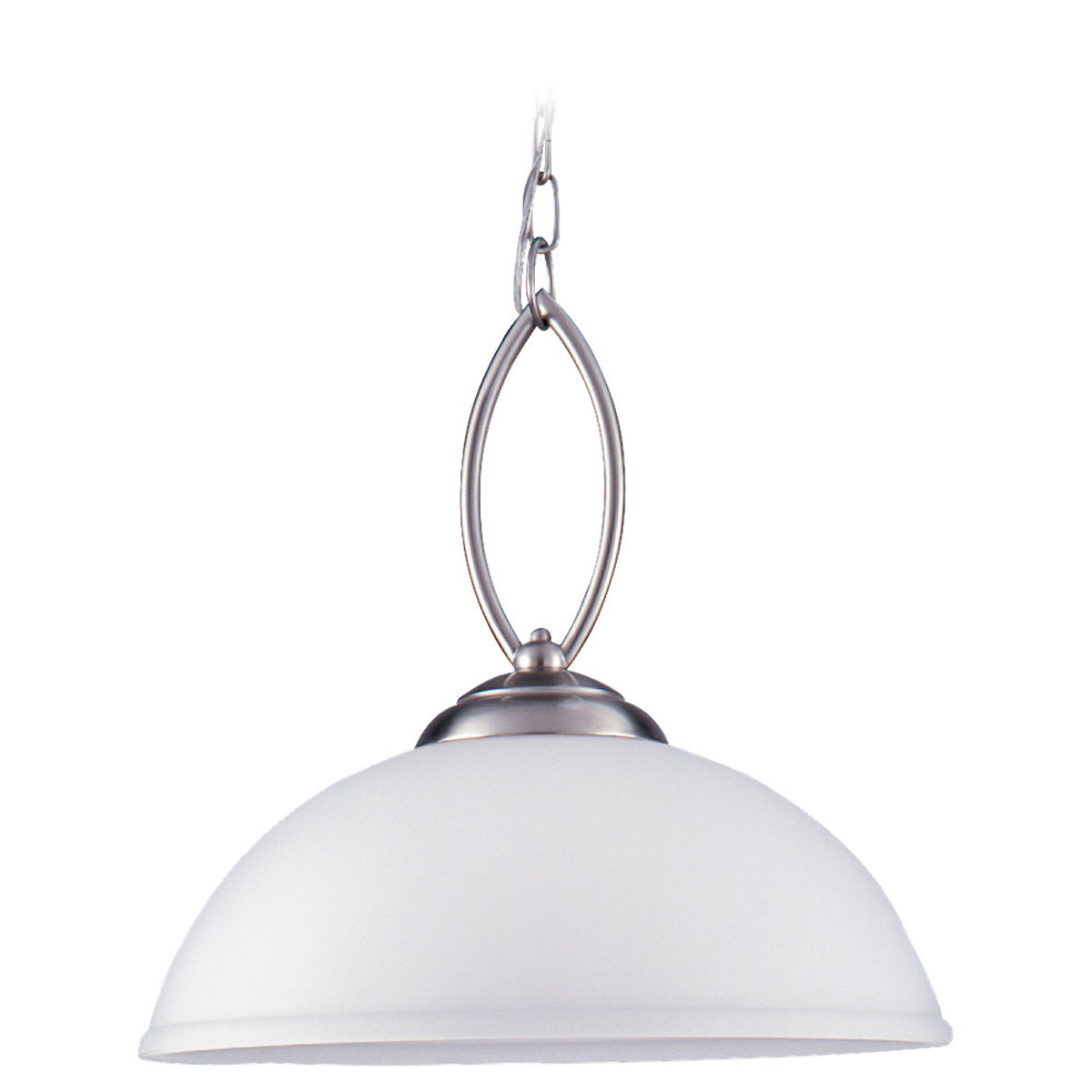 Sea Gull Lighting Pemberton 1 Light Pendant in Brushed Nickel 65074-962