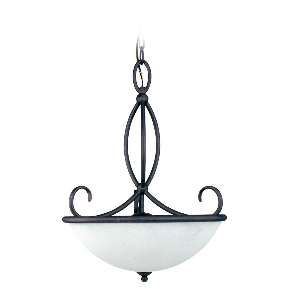 Sea Gull Lighting Pemberton 3 Light Pendant in Peppercorn 65075-799