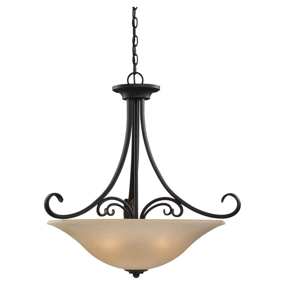Sea Gull Lighting Del Prato 4 Light Pendant in Chestnut Bronze 65120-820