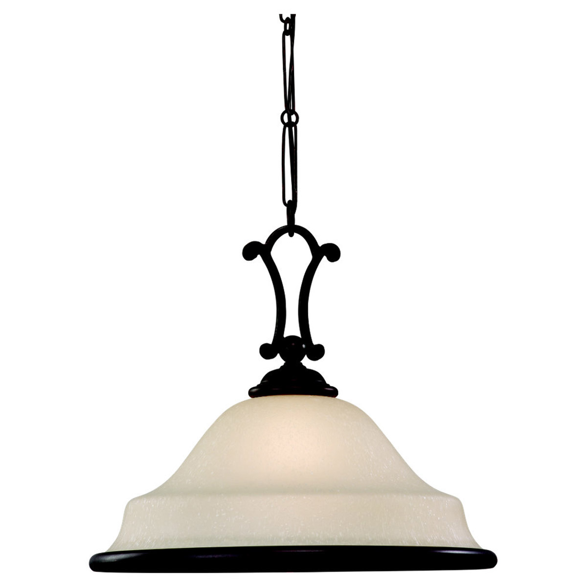 Sea Gull Lighting Acadia 1 Light Pendant in Misted Bronze 65145-814
