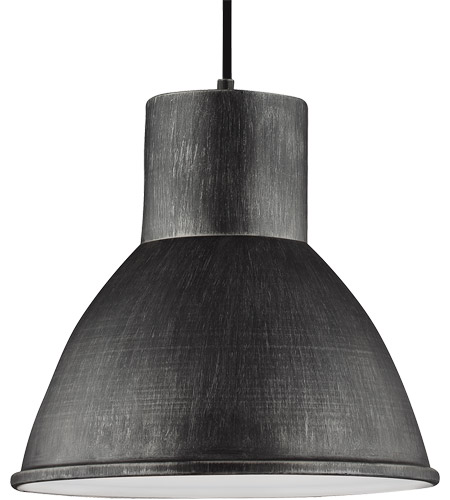 Sea Gull 6517401-846 Division Street 1 Light 15 inch Stardust Pendant Ceiling Light photo