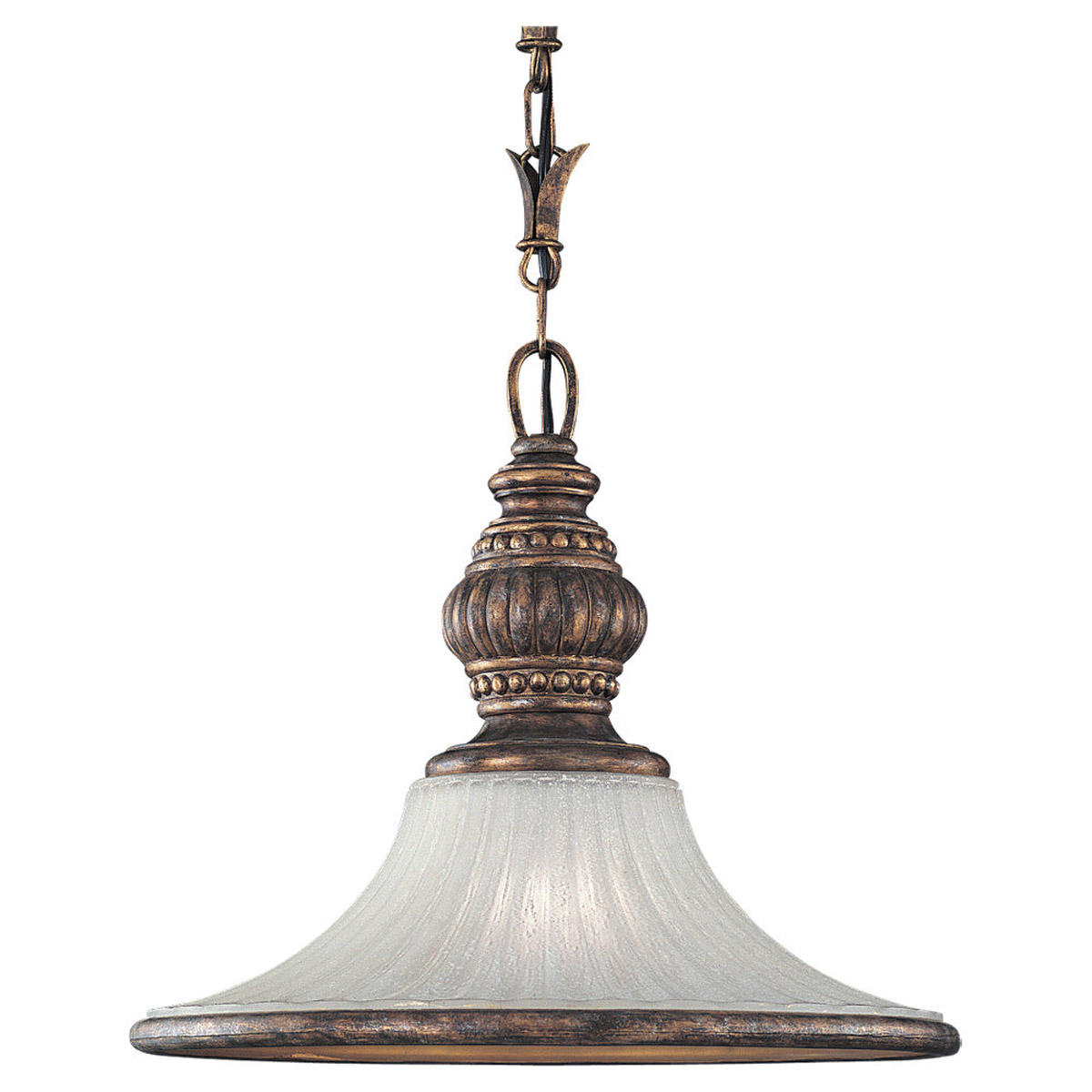 Sea Gull Lighting Highlands 1 Light Pendant in Regal Bronze 65251-758