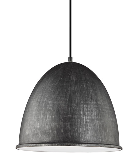Sea Gull 6525401-846 Hudson Street 1 Light 16 inch Stardust Pendant Ceiling Light photo