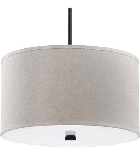Sea Gull Lighting Dayna Fluorescent 3 Light Pendant in Burnt Sienna 65263BLE-710