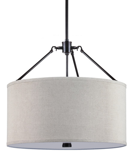 Sea Gull Lighting Brayden 3 Light Pendant in Burnt Sienna 65271-710